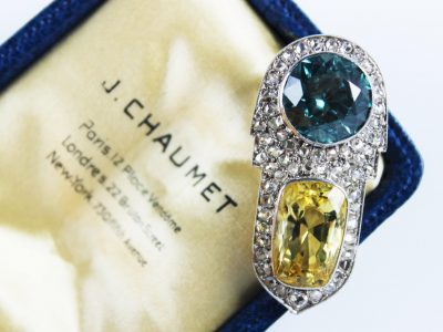 13. A Chaumet Art Deco dress clip circa 1935 SOLD for £6,500 - March 2018