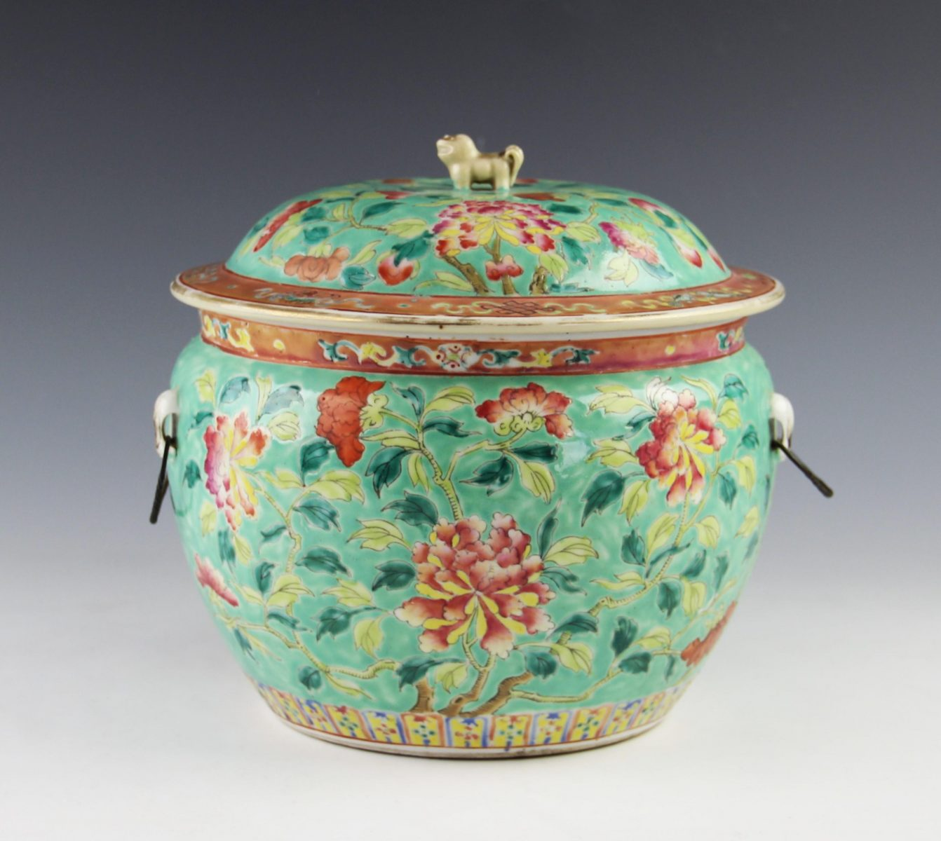 2. A large Chinese porcelain tureen and cover SOLD for £2,800 - May 2018