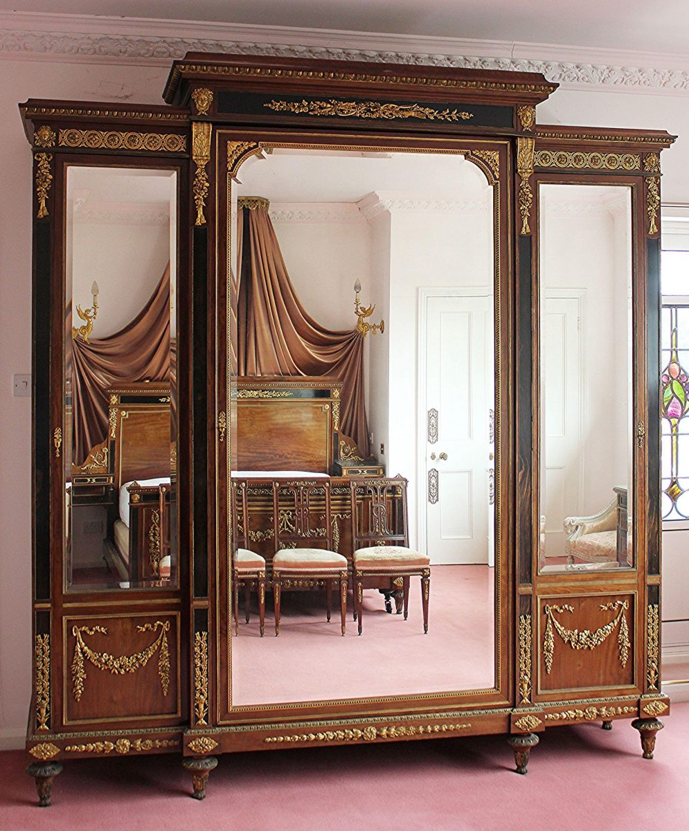 29. A French Louis XVI style bedroom suite SOLD for £16,500