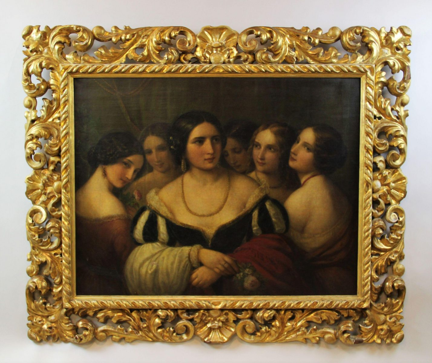 30. Natale Schiavoni oil on canvas SOLD for £10.500