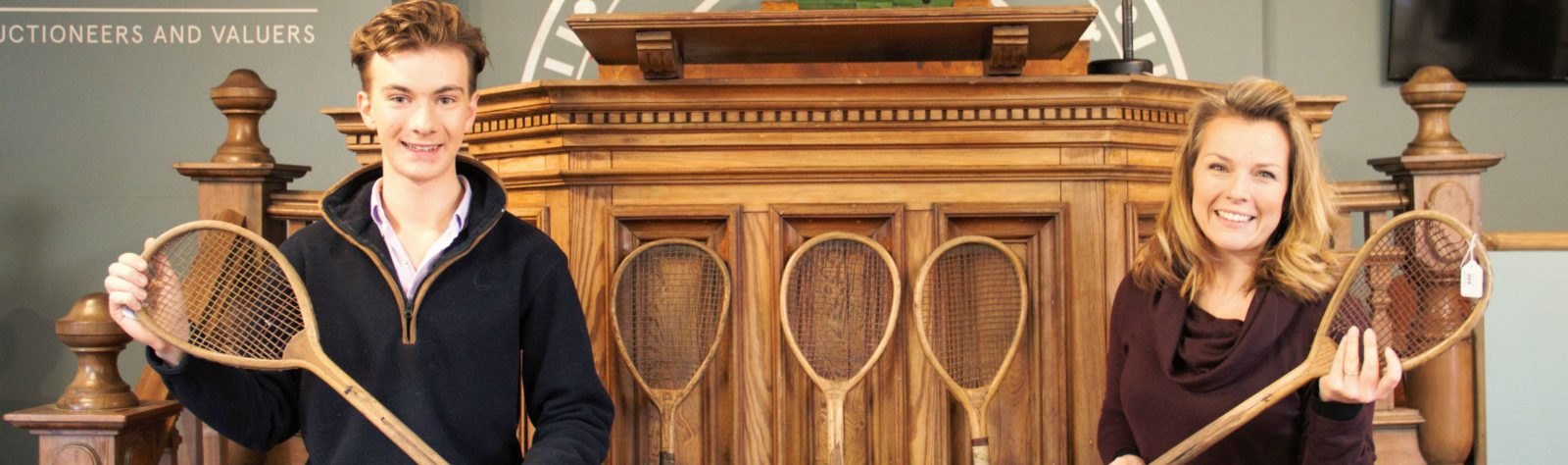 Antique Tennis Collection brings 'Ace' results at Trevanion and Dean!